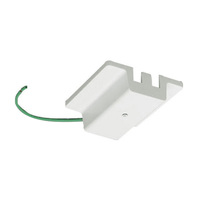 White - Floating Canopy Feed - Single Circuit - Compatible with Halo Track - PLT FC WH