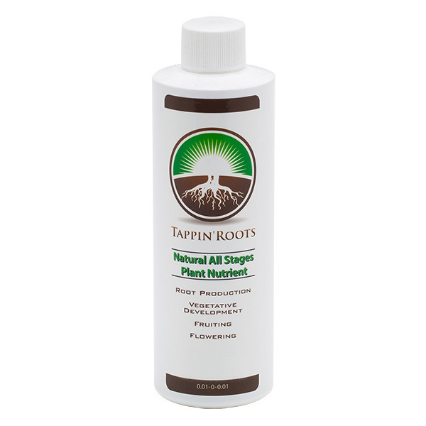 Tappin Roots - Natural All Stages Plant Fertilizer - 4 oz. Image