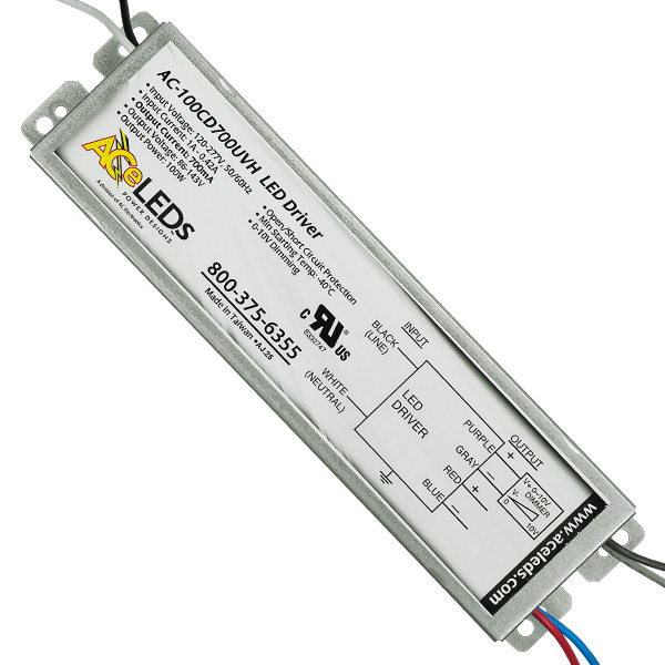 LED Driver - Dimmable - 60-100W - 700mA Output Current Image