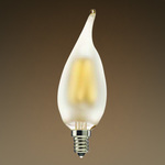 LED Chandelier Bulb - Vertical Filament - 2 Watt  Image