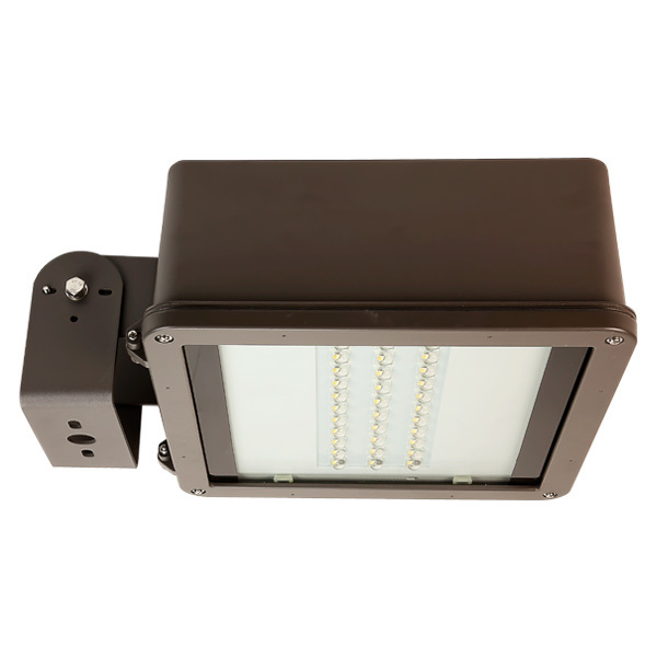 6200 Lumens - Integrated LED Area Light - Shoebox Fixture Image