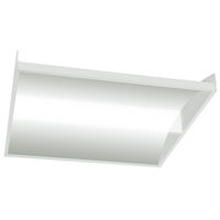 3000 Lumens - 2 x 2 LED Recessed Troffer - 23 Watt - 4000 Kelvin - Acrylic Lens - 120-277V - 5 Year Warranty - Cooper Lighting 22-SR-LD2-29-C-UNV-L840-CD1-U