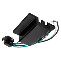 Nora NT-307B - Black - Floating Canopy Feed - Single Circuit - Compatible with Halo Track