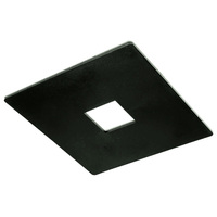 Black - Outlet Box Cover - Single or Dual Circuit - Compatible with Halo Track - Nora NT-320B