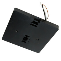 Nora NT-337B - Black - Mono Point Power Feed - Single Circuit - Compatible with Halo Track