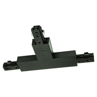 Nora NT-2314B/L - Black - T-Connector - Left Hand Polarity - Dual Circuit - Compatible with Halo Track