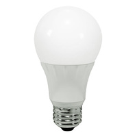 450 Lumens - 6 Watt - 40W Incandescent Equal - LED - A19 - 3000 Kelvin Halogen White - Omni-Directional