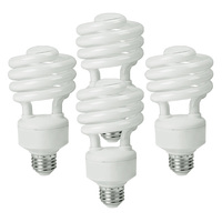 Pack of 4 - T4 CFL - 32 Watt - 125W Equal - 2700K Warm White - 80 CRI - 66 Lumens per Watt