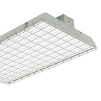 Wire Guard For LED Flat 2 ft. High Bay - 24 x 13 x 1.5 in. - Use with LED Low Profile Panel Troffers - High Bay Not Included