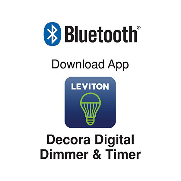 Decora Digital Dimmer Accessory with Bluetooth Technology Image