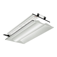 3326 Lumens - 2 x 4 LED Troffer Retrofit - 3500 Kelvin - 31 Watt - Acrylic Lens - 120-277V - For use with Fluorescent Fixtures - Lithonia 2VTL4RT 30L ADP EZ1 LP835