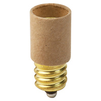 Candelabra To Candelabra - Extender Socket - 0.675 in. Extension - Satco 92-408