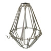 Light Bulb Cage, Open/Close Style, Polished Nickel