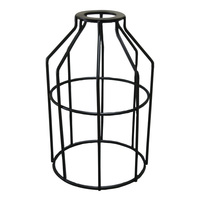 Metal Lamp Guard - Black - Light Bulb Cage - PLT 37-0108-50