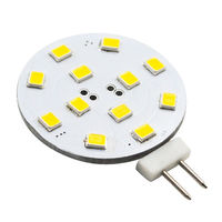 G4 LED Wafer - 2.5W - 250 Lumens - 20W Halogen Equal - 3000 Kelvin - 180 Degree Beam Angle - Waterproof  - 12 Volt AC/DC