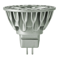 LED MR16 - 9 Watt - 65 Watt Equal - Halogen Match - Color Corrected - CRI 95 - 490 Lumens - 3000 Kelvin - 36 Deg. Flood - 12 Volt - GU5.3 Base - Soraa 00967