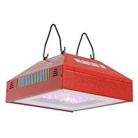 SolarStorm 110 LED Grow Light Fixture - 110 Watt - 90-277 Volt - 80,000 Life Hours - BloomBooster Spectrum - California Lightworks CLW0110
