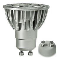 Soraa 2501 - 490 Lumens - 3000 Kelvin - LED MR16 - 9 Watt - 65W Equal - 36 Deg. Flood - Color Corrected CRI 95 - Dimmable - 120V - GU10 Base