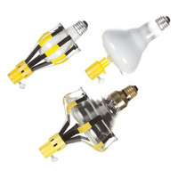 3 Bulb Changer Kit - Includes Standard/ Floodlight/ Recessed and Track Lighting Heads