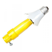 Bulb Changer Head - Incandescent and CFL Broken Bulbs