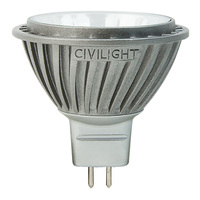 LED - 7 Watt - MR16 - 35W Equal - 3000 Kelvin - 95 CRI Color Corrected - 35 Deg. Flood