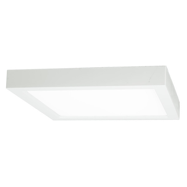 10 Watt - 6.28 in. LED Ultra Thin Square Ceiling Fixture Image