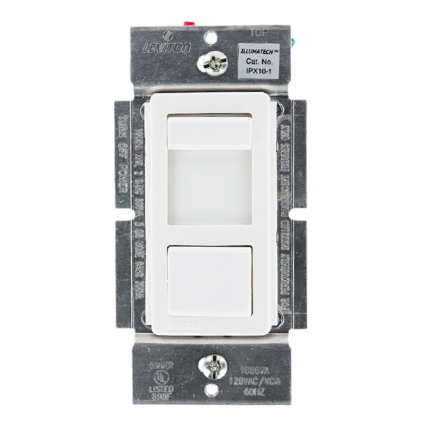 Leviton IllumaTech IPX10-10Z - 1000VA Max. - Fluorescent Dimmer for Mark 10 Powerline Ballasts Image