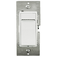 600W Max. - Incandescent Dimmer - Single Pole / 3-Way / Multi-Location - Features LED Locator and Brightness Display - White/Ivory/Light Almond - Push Pad Switch - 120 Volt - Leviton Vizia+ VPI06-1LZ