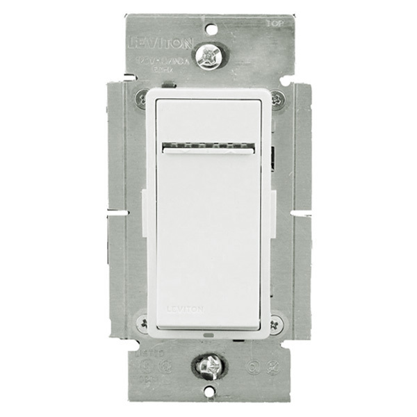 Leviton Vizia+ VPX10-1LZ - 1000VA Max. - Fluorescent Dimmer for Mark 10 Powerline or TU-Wire Ballasts Image