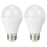LED - A19 - 10 Watt - 60W Incandescent Equal - 800 Lumens - 2700 Kelvin Warm White - 2 Pack