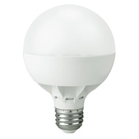 500 Lumens - 8W - 60W Equal - LED G25 Globe - 3.3 in. Diameter - 2700 Kelvin - Frosted - Medium Base - 120V - Lighting Science RES 25 60WE W27 120 DG