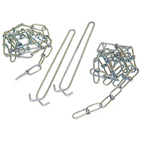 Wire Hangers with 36 in. Chains - Includes 2 Chains and 2 Hangers - Lithonia Lighting HC36 M12