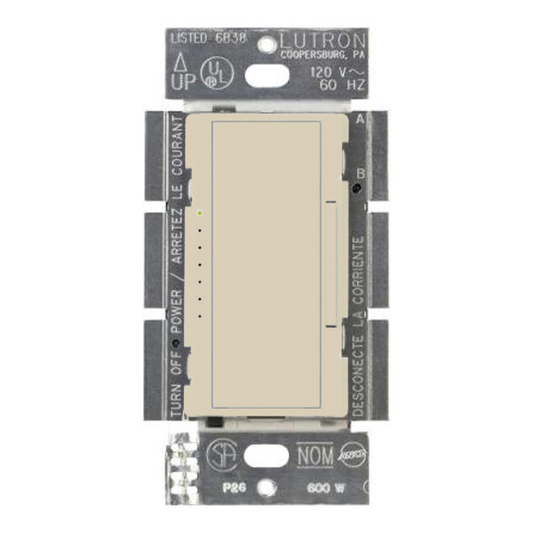 Lutron Maestro MRF2-6ELV-120-IV - 600 Watt Max. - Wireless Electronic Low-Voltage Dimmer Image