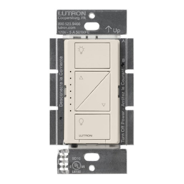 Caseta Wireless In-Wall Dimmer - Single Pole/Multi-Location Image