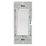 White/Ivory/Light Almond - 15 Amp Max. - General Purpose Switch - Features LED Locator Image