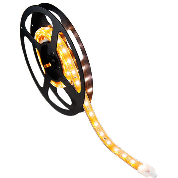 16 ft. - 3000K Warm White - LED - Waterproof Tape Light - 12 Volt Image