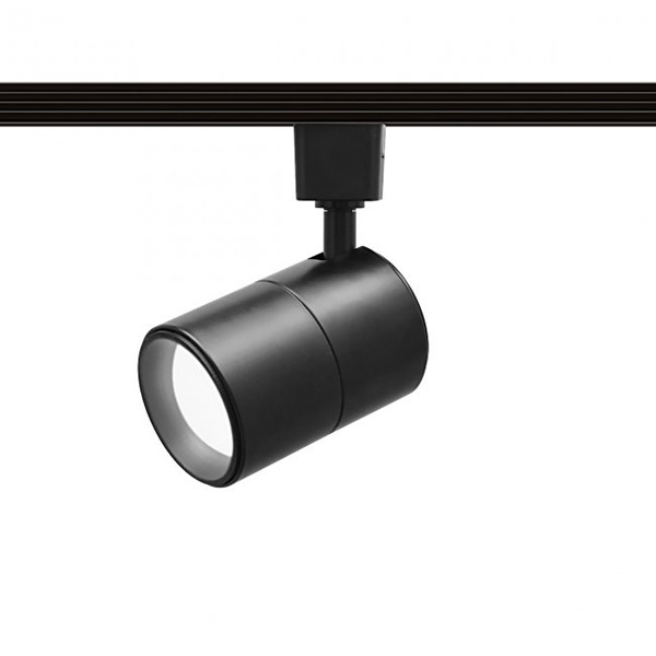 Wac lighting h led202 30 bk cylinder track fixture flat back cylinder track fixture includes 15 watt led mr16 image aloadofball Image collections