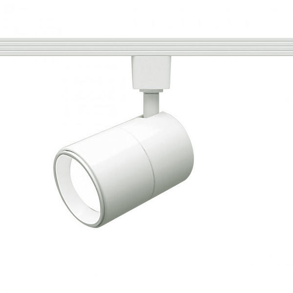 Flat Back Cylinder Track Fixture - Includes 15 Watt LED MR16 Image