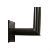 Angled Wall Mount Tenon Bracket - Extends 8.5 inches - For use with 2-3/8 in. Inside Diameter Slipfitters