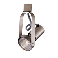 Brushed Nickel - Gimbal Ring Track Fixture - Operates 50W R/PAR20 - Halo Track Compatible - 120 Volt -  WAC Lighting HTK-763-BN