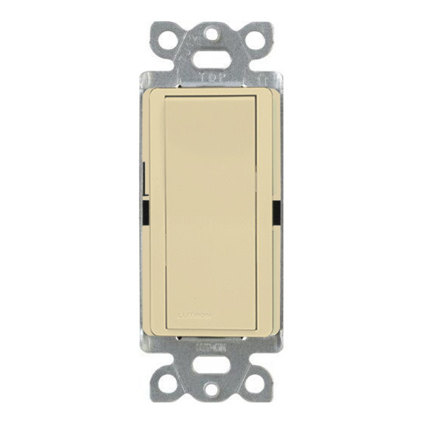 Ivory - 15 Amp Max - Decorator Switch Image