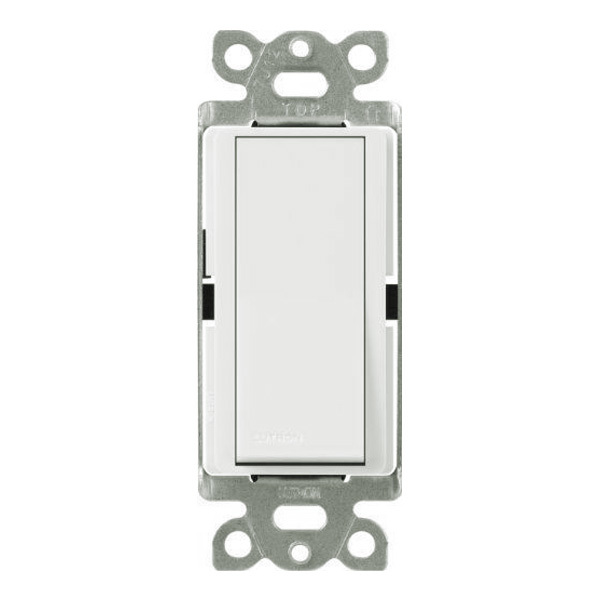 White - 15 Amp Max. - General Purpose Switch w/ Night Light Image
