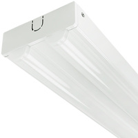 4000 Lumens - 48 x 3.54 in. - LED Lensed Strip Fixture - 48W - 2 Lamp Fluorescent Equal - 4000 Kelvin - 120 Volt