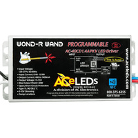 10-40W - Programmable LED Driver - Output 15-55V - Input 120-277VAC - Length 5.23 in. - For Constant Current Products Only