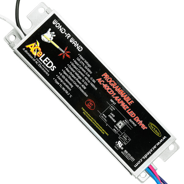 10-40W - Programmable LED Driver - Output 15-55V Image