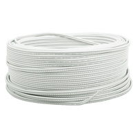 250 ft. - White - 18 AWG - SPT-1 Rated -  Commercial Christmas Wire