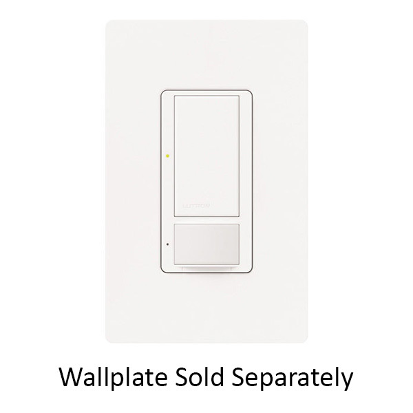 Lutron Maestro MS-0PS5M-WH - White - Passive Infrared (PIR) Occupancy  Image