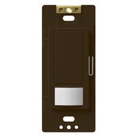 Brown - Passive Infrared (PIR) Vacancy Sensor - 6 Amp Max. - 120-277 Volt  - Neutral Required
