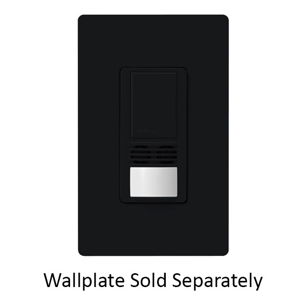 Lutron Maestro MS-A102-BL - Black - Passive Infrared (PIR) Image