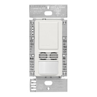 White - Passive Infrared (PIR) Ultrasonic Occupancy Sensor - 6 Amp Max. - 120-277 Volt